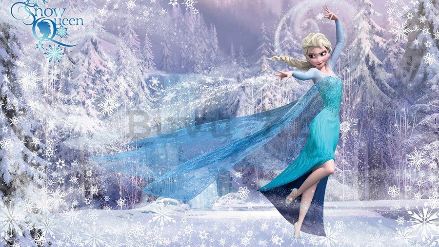 Foto tapeta Vlies: Frozen (Snow Queen) - 254x368 cm