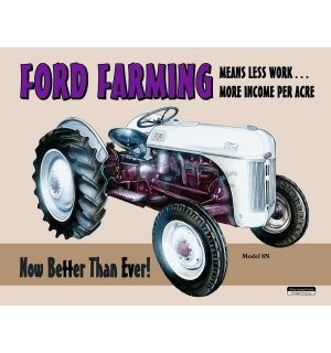 Metalna tabla - Ford Farming 8N