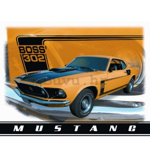 Metalna tabla - Ford Mustang (Boss 302)