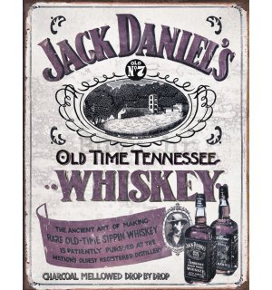 Metalna tabla - Jack Daniels (Retro Whiskey)