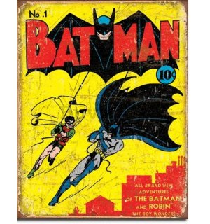 Metalna tabla - Comics Batman and Robin