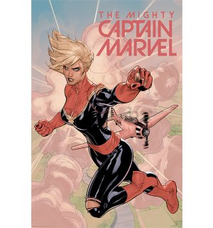 Poster - Captain Marvel (Flight)
