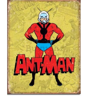Metalna tabla - Ant-Man (Retro)