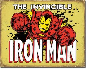 Metalna tabla - The Invincible Iron Man (2)