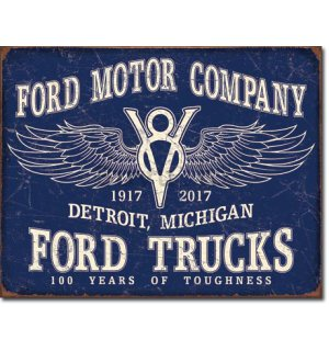 Metalna tabla - Ford Trucks 100 Years
