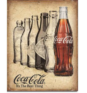 Metalna tabla - Coca-Cola (It's The Real Thing)