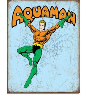 Metalna tabla - Aquaman