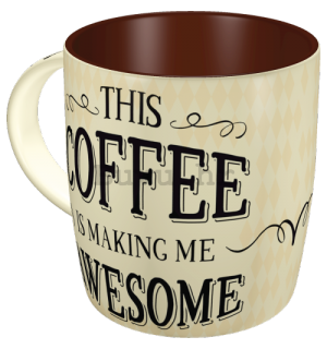 Šalica - This Coffee is Making Me Awesome