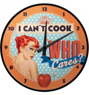 Retro sat - I Can't Cook Who Cares?