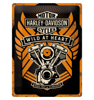 Metalna tabla - Harley-Davidson Wild At Heart (Special Edition)