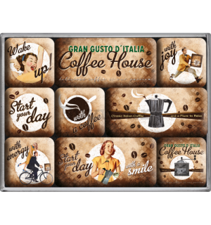 Set magneta - Coffee House
