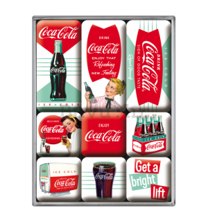 Set magneta - Coca-Cola (Ice Cold)
