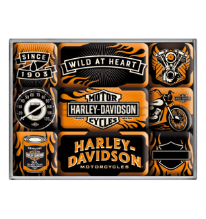 Set magneta - Harley-Davidson (Wild at Heart)