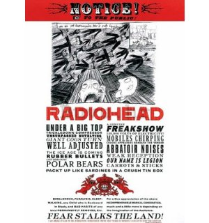 Poster - Radiohead (Fear)