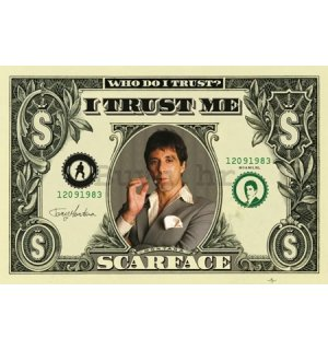 Poster - Scarface dollar