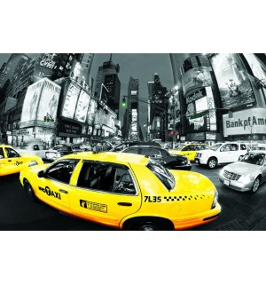 Poster - NYC Taxis (Times Square) (1)