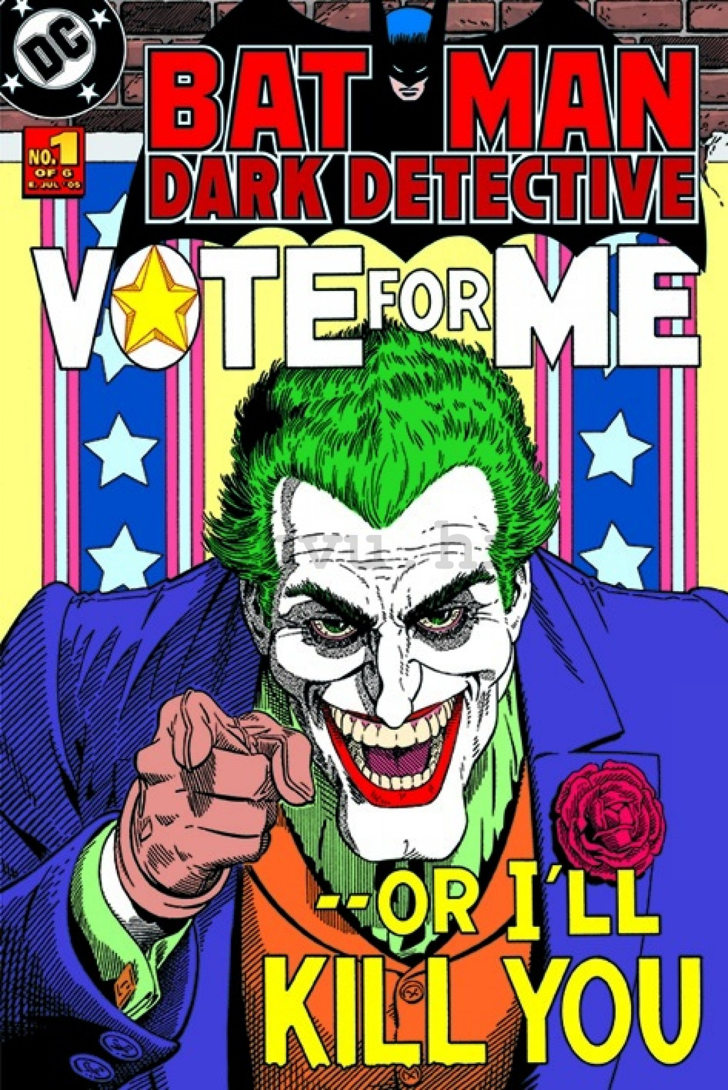 Poster - Batman (Joker vote for me)