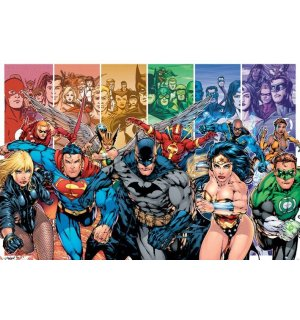 Poster - Justice League America (Generations)
