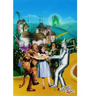 Poster - Wizard Of Oz (Yellow Brick Road)