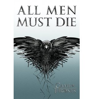 Poster - Game of Thrones (All Men Must Die)