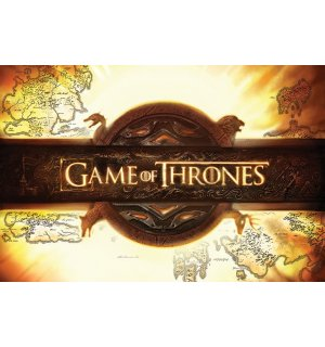Poster - Game of Thrones (logotip)