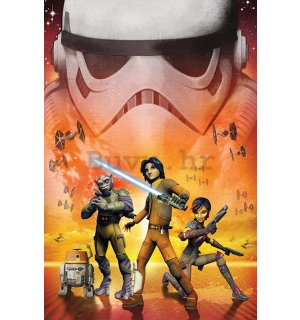 Poster - Star Wars Rebels (Empire)