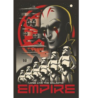 Poster - Star Wars Rebels (Long Live Empire)