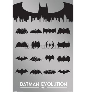 Poster - Batman (Evolucija)
