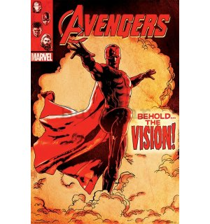 Poster - Avengers Age of Ultron (Behold the Vision!)