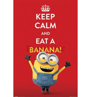 Poster - Malci (Keep Calm and Eat Banana!)