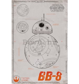Poster - Star Wars VII (BB-8)
