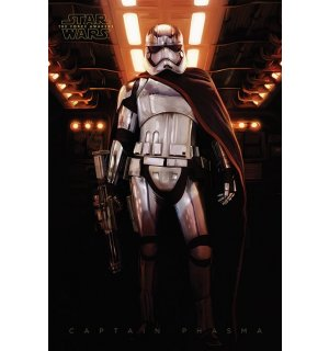 Poster - Star Wars VII (Captain Phasma)