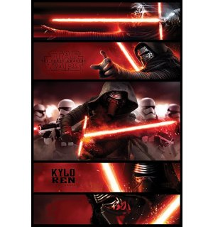 Poster - Star Wars VII (Kylon Ren panel)