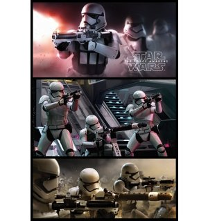 Poster - Star Wars VII (Stormtrooper panel)