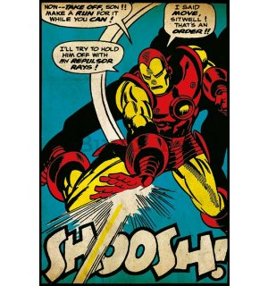 Poster - Iron Man (Snoosh!)