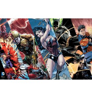 Poster - Justice League (Panels)