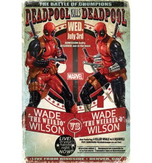 Poster - Deadpool (Wade vs. Wade)