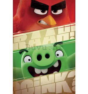 Poster - Angry Birds (Raah!)