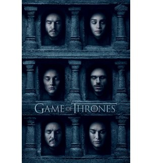 Poster - Game of Thrones (Hall of Faces)