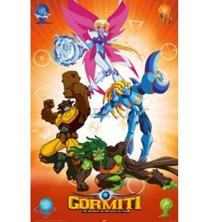Poster - Gormiti strong together