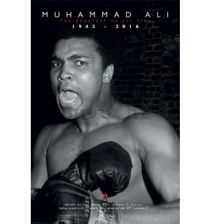Poster - Muhammad Ali (The Greatest of all Time)