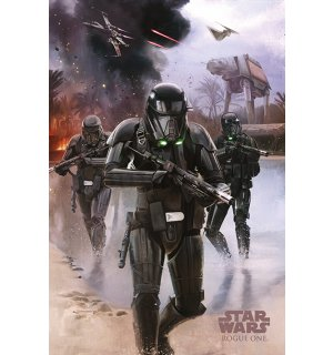 Poster - Star Wars Rogue One (Death Troopers)