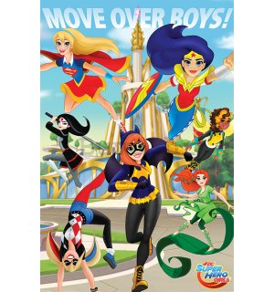 Poster - DC Super Hero Girls