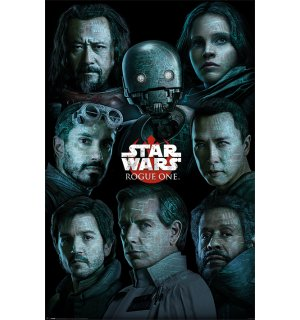 Poster - Star Wars Rogue One (likovi)