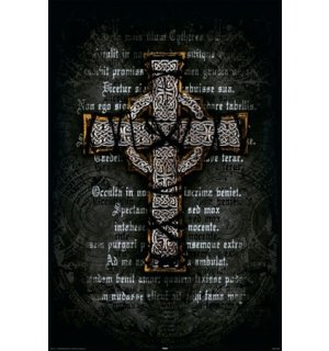 Poster - Gothic Cross