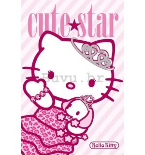 Poster - Hello Kitty (Cute star)