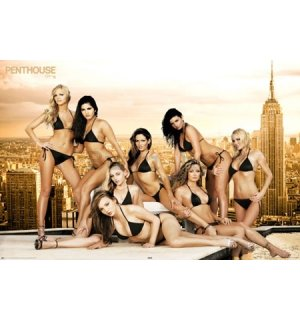 Poster - Penthouse roof girls