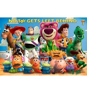 Poster - Toy Story 3 (Cast)