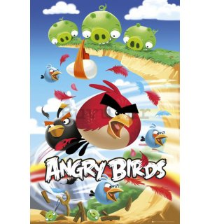 Poster - Angry Birds (Attack)
