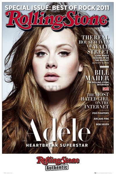 Poster - Rolling Stones (Adele)